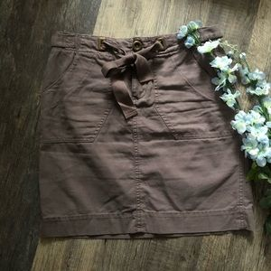 Daughters of the Liberation   Purple Twill Skirt